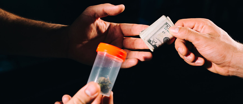 Доказательства сбыта наркотиков